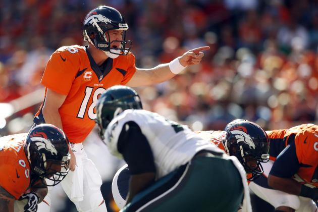 Peyton Manning Continues to Lead MVP Race After Shredding Philadelphia