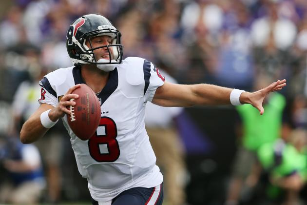 Is Matt Schaub Really Good Enough to Take Texans to the Next Level?