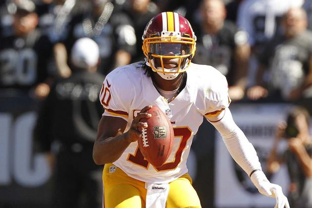Robert Griffin III's Updated 2013 Fantasy Outlook and Trade Value After Week 4
