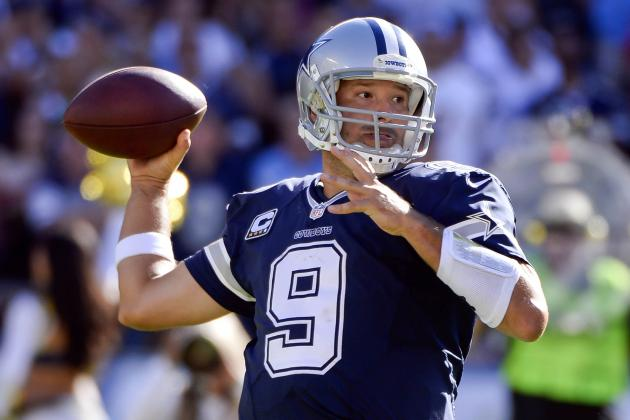 Tony Romo's Updated 2013 Fantasy Outlook and Trade Value After Week 4