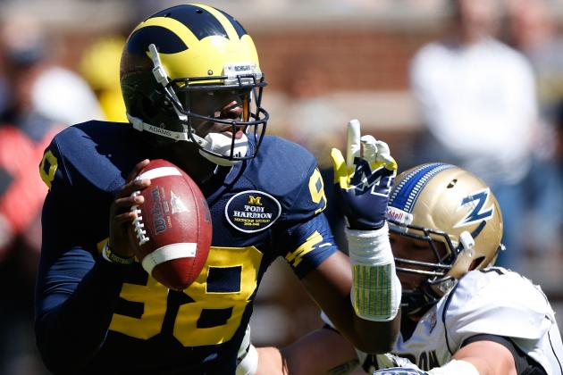 QB Devin Gardner: Superman Needs Help from Michigan Teammates