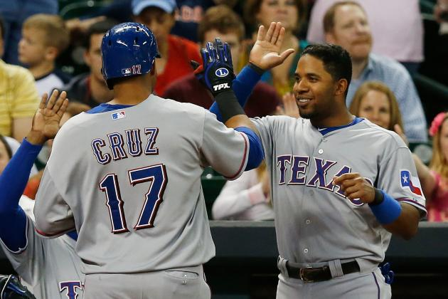 Rangers to Activate Nelson Cruz for Monday Tiebreaker