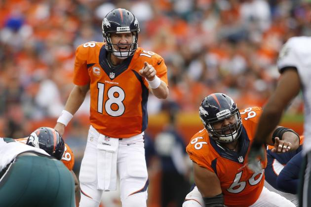 Analyzing Peyton Manning's Record-Setting Pace Through Week 4