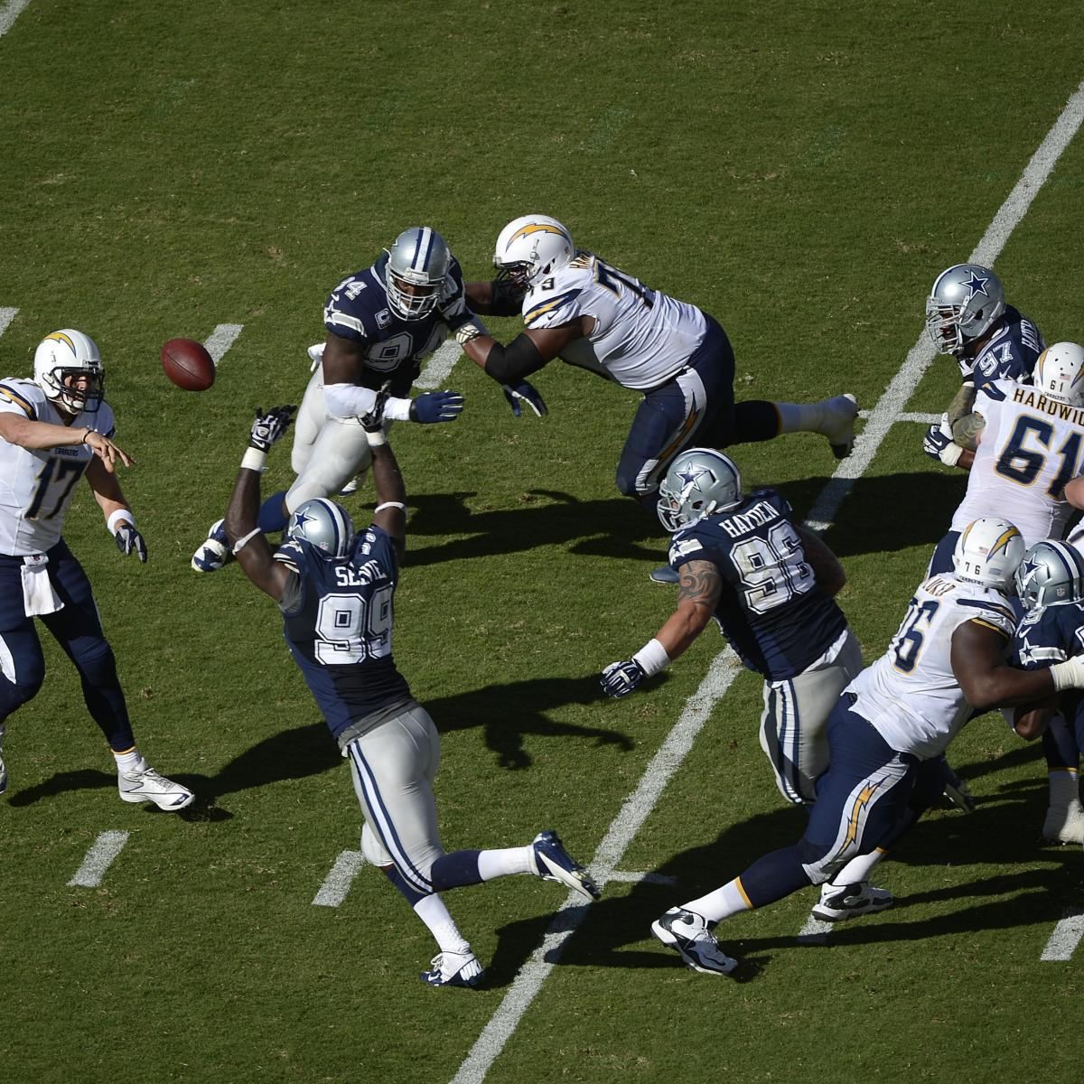 San Diego Chargers Dallas Cowboys: Cowboys Vs. Chargers: Full Roster Report Card Grades For