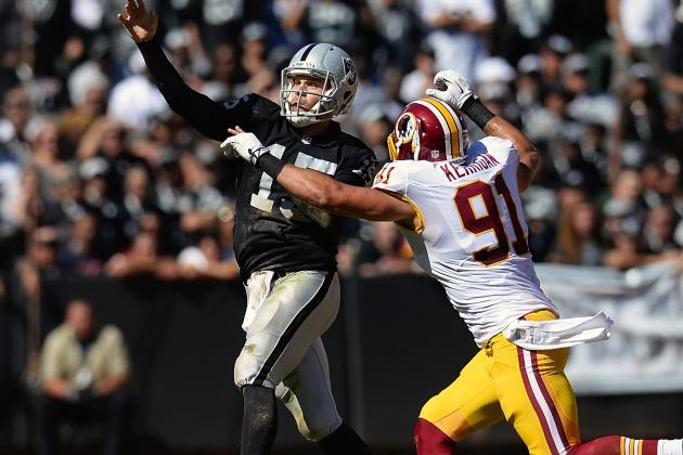 Redskins Defense Sacks Raiders
