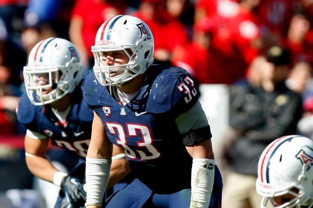 LB Fischer (Ankle) Hopes to Play vs. USC