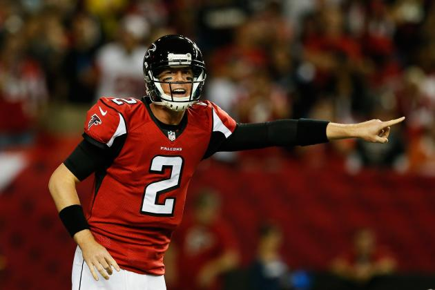 Matt Ryan's Updated 2013 Fantasy Outlook and Trade Value After Week 4