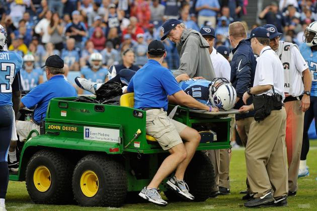 Best-Case, Worst-Case Scenarios for Jake Locker's Heartbreaking Hip Injury
