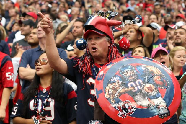 Texans Fans Getting Restless, Players Getting Upset