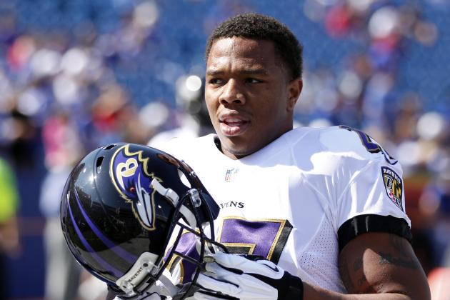 Ray Rice Says He Didn't Aggravate Hip; Deonte Thompson Suffers Concussion