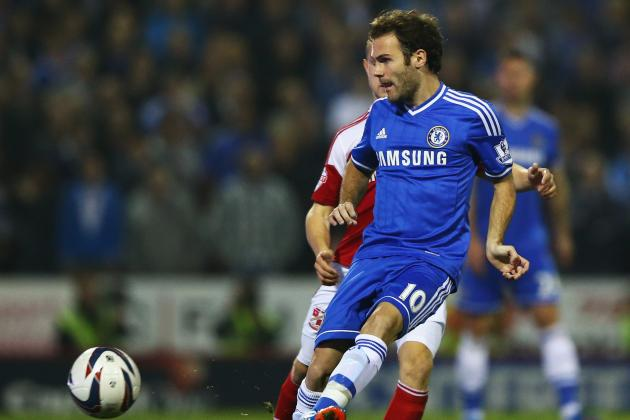 Steaua Bucuresti vs. Chelsea: Jose Mourinho Must Trust Juan Mata in Romania