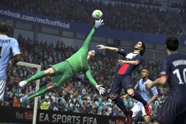 FIFA 14 Glitch Sees Goalkeeper and Striker Get Overly Friendly