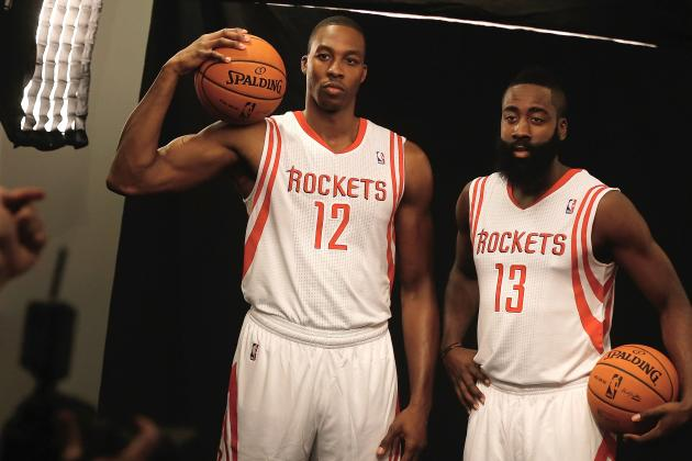Dwight Tells Harden to Do Talking 'On the Court'