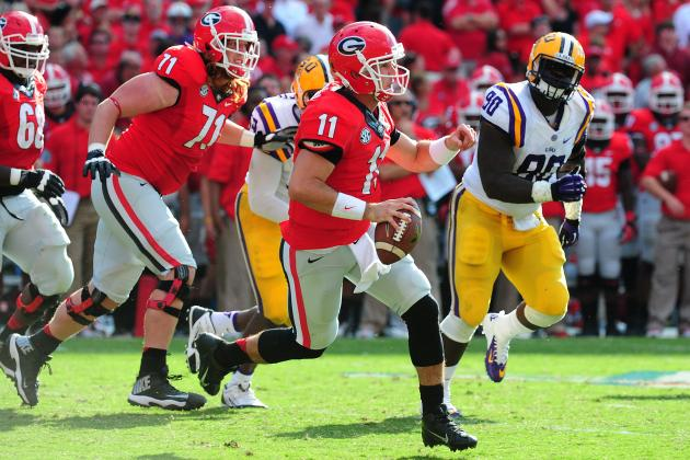 Aaron Murray and CJ Mosley Headline Week 5's SEC Players of the Week