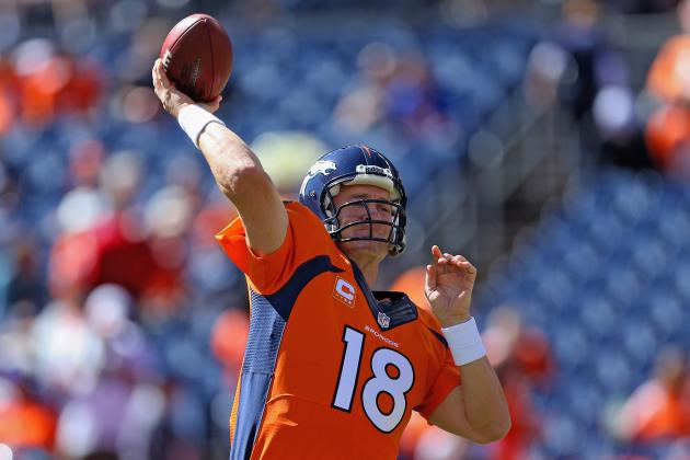 2013 Fantasy Football Quarterback Rankings: NFL Week 5