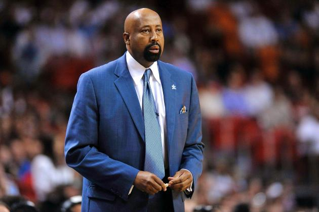 New York Knicks Exercise Coach Mike Woodson's Contract Option for 2014-15 Season