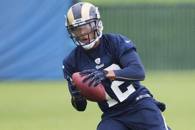 Rams' Bailey Waiting for His Shot on Offense