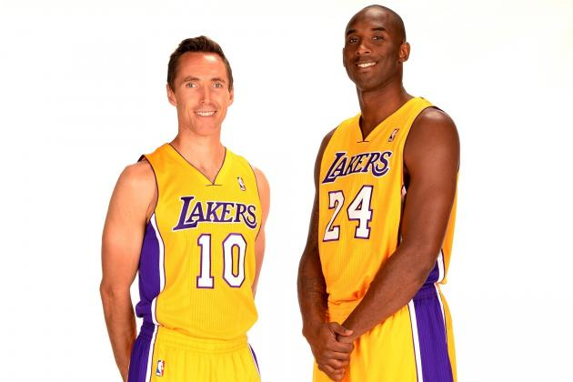 Kobe Bryant and Steve Nash Feeling Relieved, Cohesive with Dwight Howard Gone