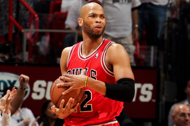 Taj Gibson Bulks Up for Big Season