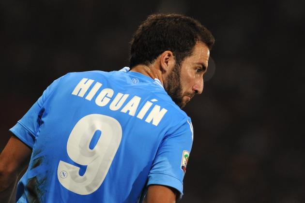 Arsenal vs. Napoli: Gunners Hope They Won't Be Haunted by Gonzalo Higuain