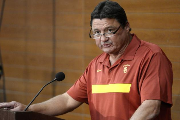 Orgeron Gives Trojans a New Voice