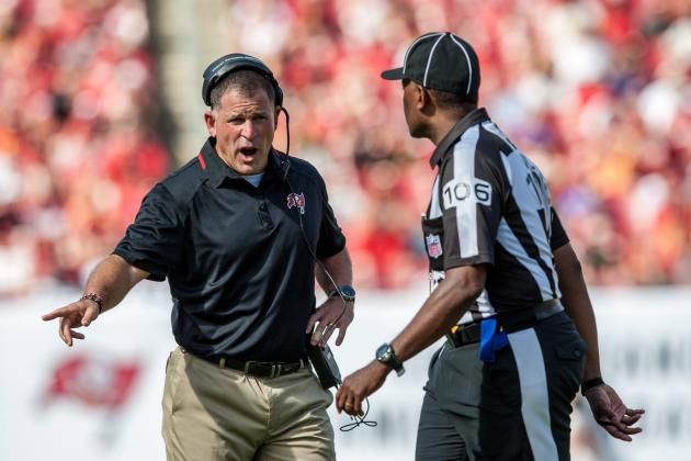 Schiano's Lack of Adjustments to Blame for Bucs' 0-4 Start