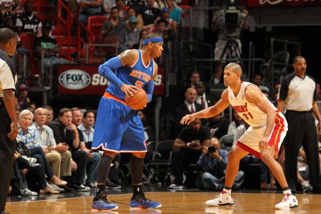 Breaking Down How Opposing Teams Must Defend Carmelo Anthony to Shut Him Down