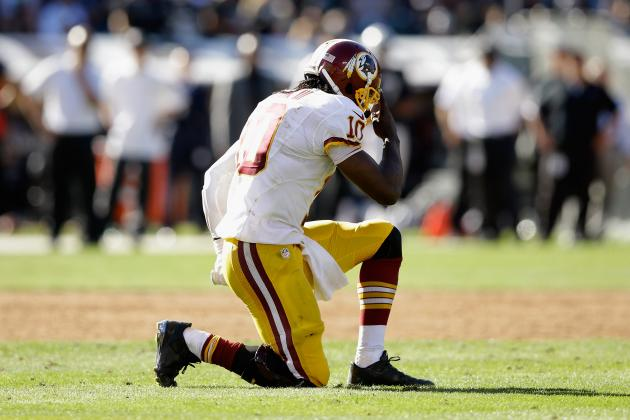 Robert Griffin III's Running Ability Will Determine Fate of Washington's Season