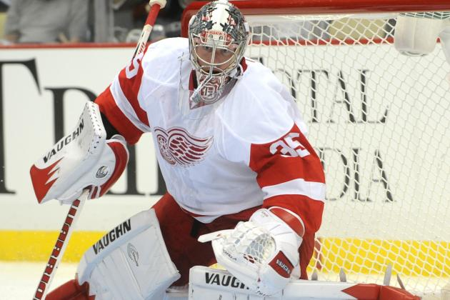 Winning Stanley Cup Drives Jimmy Howard to Be One of NHL's Best Goalies