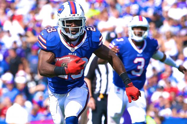 C.J. Spiller Injury: Updates on Bills RB's Ankle