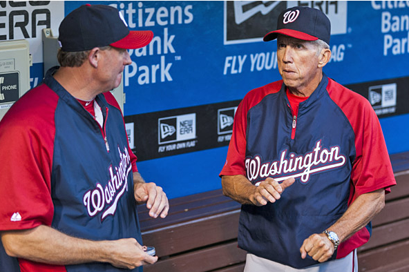 Williams, Knorr Appear to Be Nats' Top Two Managerial Candidates