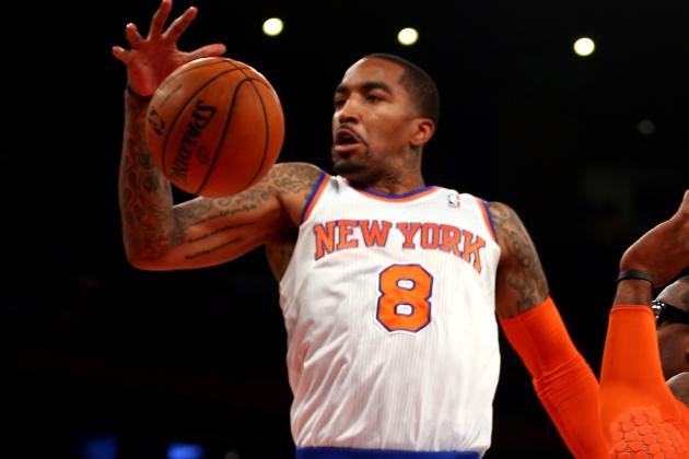 J.R. Feels He Let Knicks Down with Pot Bust