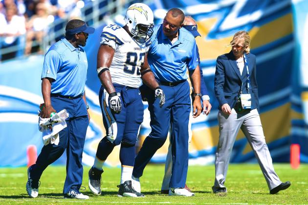 Dwight Freeney Injury: Updates on Chargers DE's Quad, Likely Return Date