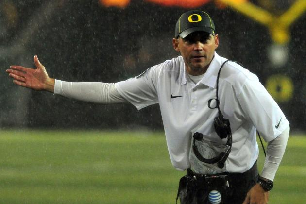 Historic Four-Game Run for UO, Helfrich
