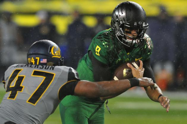 Oregon Football Practice Report Sept. 30