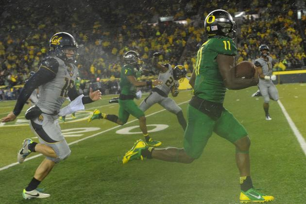 Oregon's Bralon Addison Named Pac-12 Special Teams Player of the Week