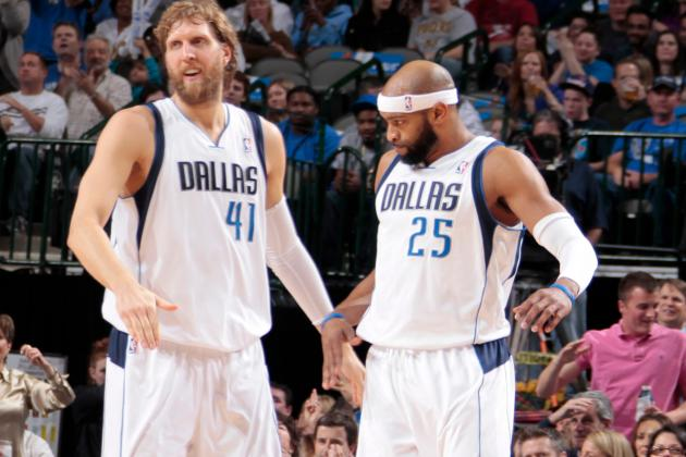 Mavs Plan to Play Nowitzki, Carter Around Same Minutes as Last Year