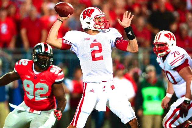 Wisconsin Found Another Offensive Weapon in Joel Stave