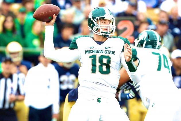 Michigan State Needs to Settle Quarterback Rotation for Sake of Players