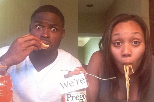 Ravens WR Torrey Smith and Wife Announce Pregnancy in Fantastic Fashion