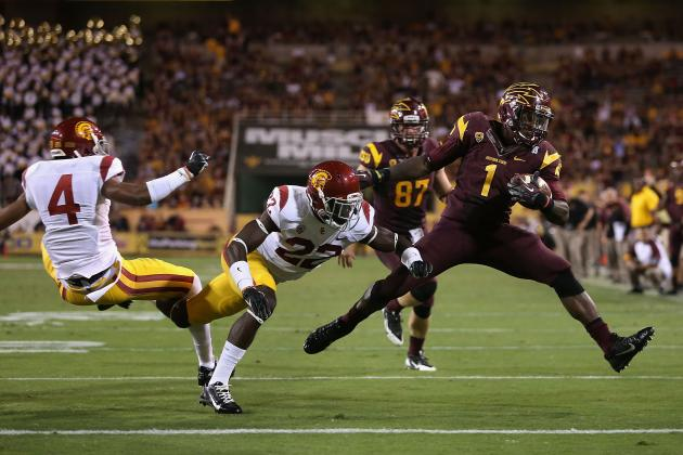 Arizona State Football: Sun Devils Return to Top 25 Prior to Notre Dame Matchup