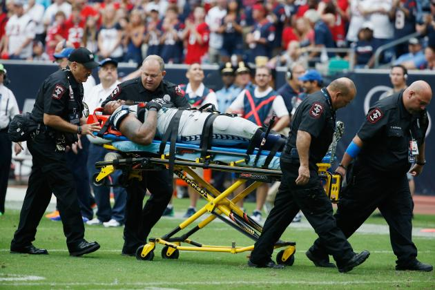 Michael Bennett Expected to Practice This Week After Scary Injury