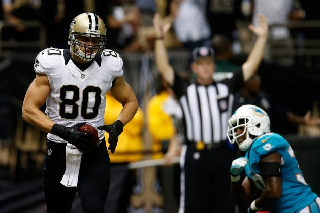 Jimmy Graham's Updated 2013 Fantasy Outlook and Trade Value Heading into Week 5