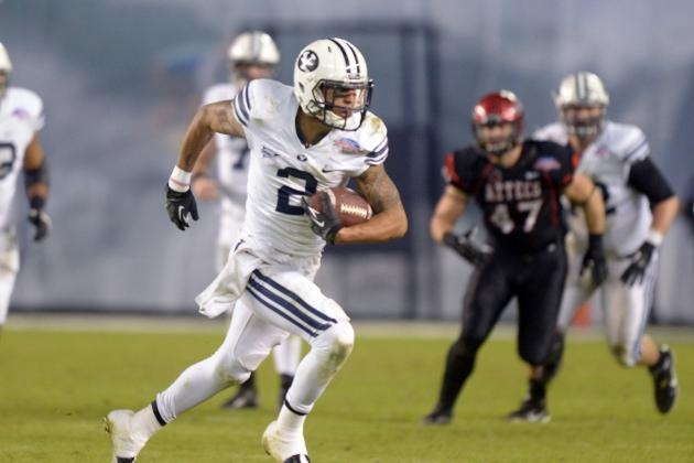 BYU Football: RB Jamaal Williams, WR Cody Hoffman Set to Return for Cougs