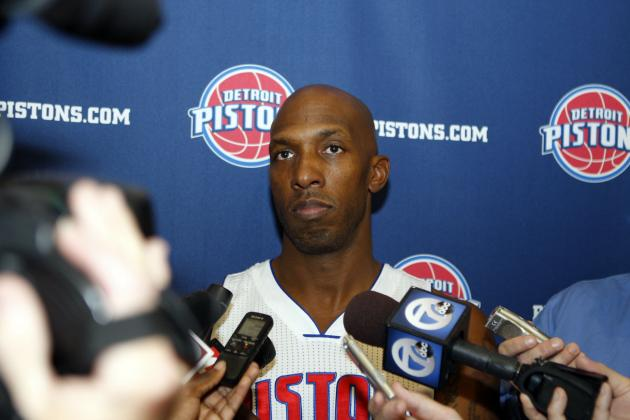 Detroit Pistons Media Day 2013: Photos, Interviews and Takeaways