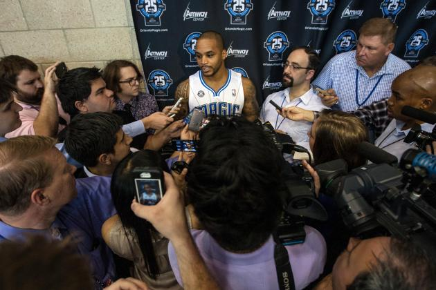 Orlando Magic Media Day 2013: Photos, Interviews and Takeaways