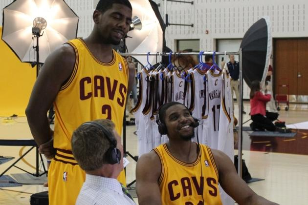 Cleveland Cavaliers Media Day 2013: Photos, Interviews and Takeaways