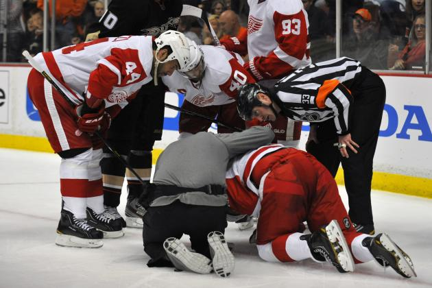 Injured Reserve Already Crowded for NHL 2013-14 Opening Week