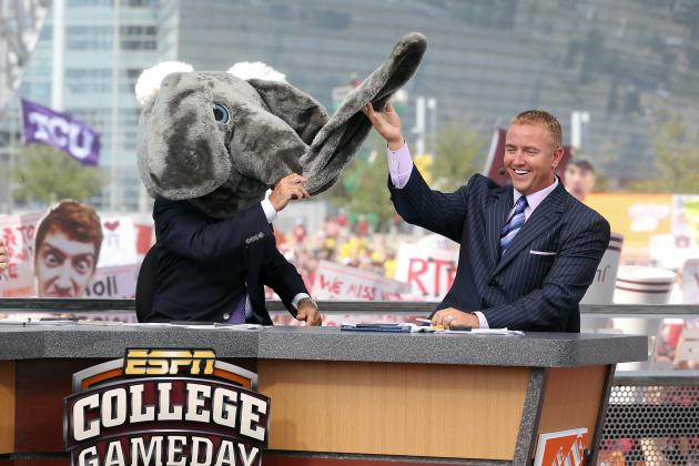Kirk Herbstreit Talks to Bleacher Report About GameDay, Lee Corso and More