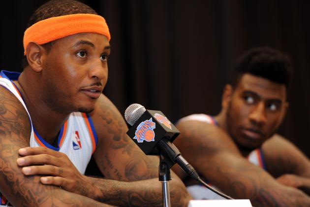 New York Knicks Media Day 2013: Photos, Interviews and Takeaways